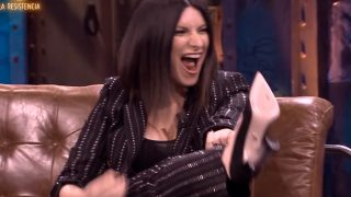 Laura Pausini sacó su lado rockero para confirmar su fortuna / Movistar+
