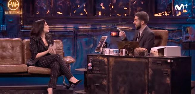 Laura Pausini y David Broncano