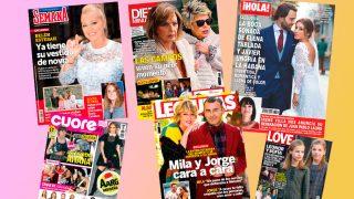 Estas son las portadas de esta semana