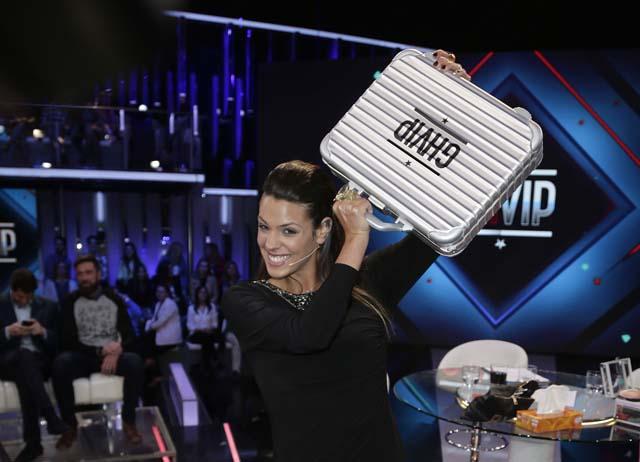 Laura Matamoros al convertirse en ganadora de 'Gran Hermano VIP'