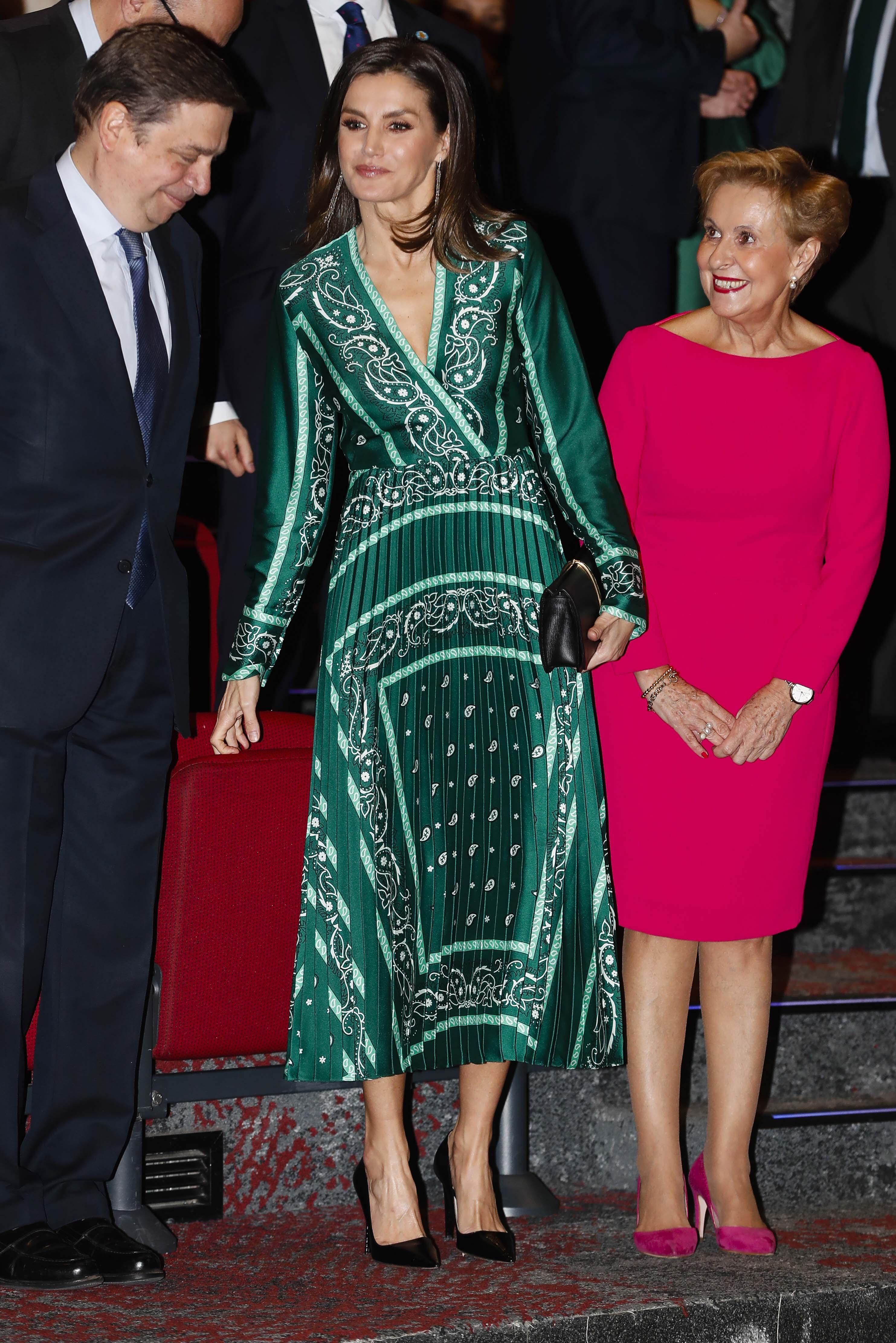 letizia vestido sandro