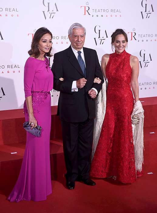 Isabel Presysler, Mario Vargas Llosa y Tamara Falcó