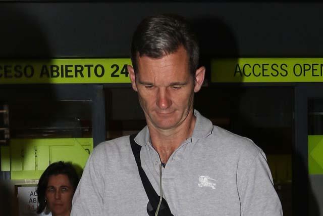 Última imagen de Iñaki Urdangarín antes de entrar en prisión