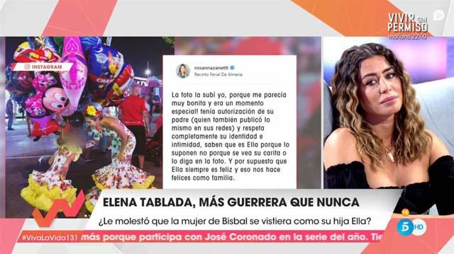 Elena Tablada en 'Viva la vida'