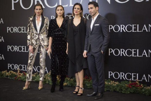 Nieves Álvarez, Irina Shayk, Miguel Ángel Silvestre, Silvia Jato