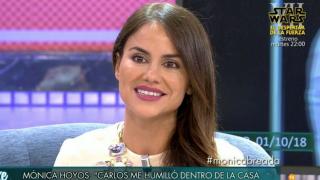 Mónica Hoyos durante su paso por el Deluxe / Telecinco