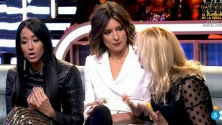 Marta López explica el motivo de la discusión entre Aurah Ruiz y la madre de Suso/ Telecinco