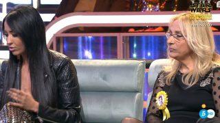 Aurah y Merche mantienen una fuerte discusión en el Debate de GH VIP./Mediaset