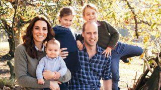 Felicitación de Navidad de los duques de Cambridge / Gtres