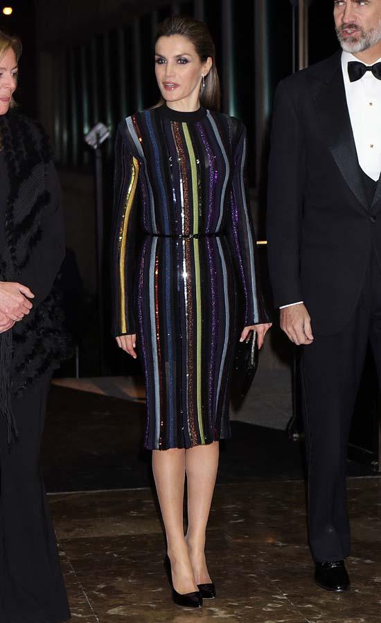 La Reina Letizia durante los premios Mariano de Cavia de 2016
