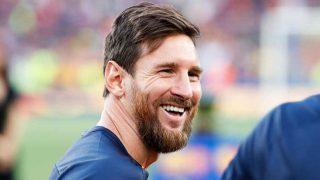 Leo Messi, durante un partido de esta temporada con el FC Barcelona / Gtres