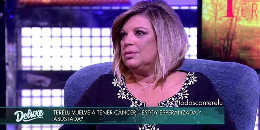 Terelu Campos acudió a 'Sálvame Deluxe' para contar que había recaído en su enfermedad