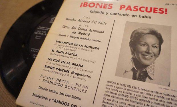 Disco de Menchu Álvarez del Valle