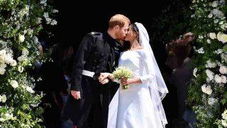 El Príncipe Harry y Meghan Markle el día de su boda / Gtres