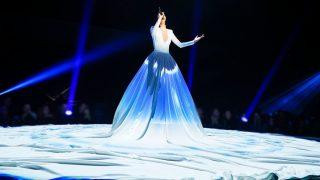 Natalia Lacunza durante la gala final de 'OT 2018'. / Gtres