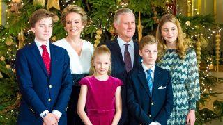 Los reyes de los belgas y sus hijos / Gtres