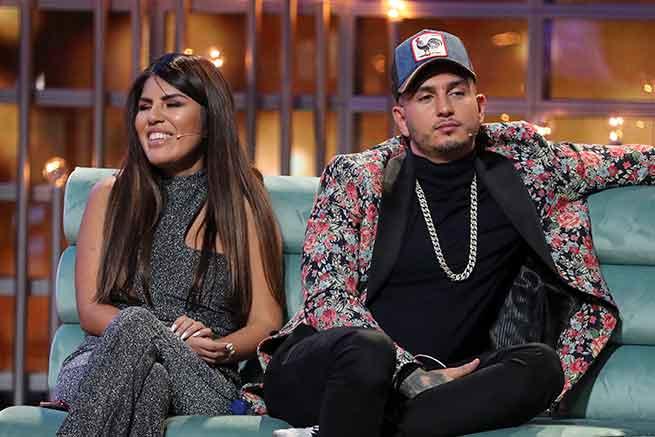 Omar Montes e Isa Pantoja,