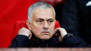 José Mourinho, en una imagen de esta temporada / Gtres