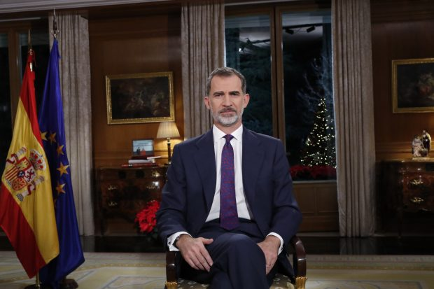 Felipe VI refuerza la figura de Leonor en su mensaje navideño más feminista