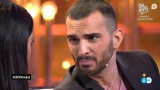Suso evita besar a Aurah en el Debate de GH VIP./Mediaset