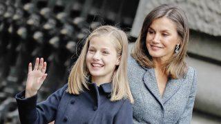 La reina doña Letizia y la princesa de Asturias / Gtres