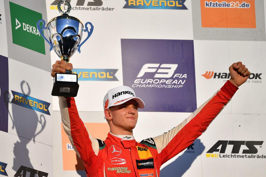 Mick Schumacher el pasado mes de octubre