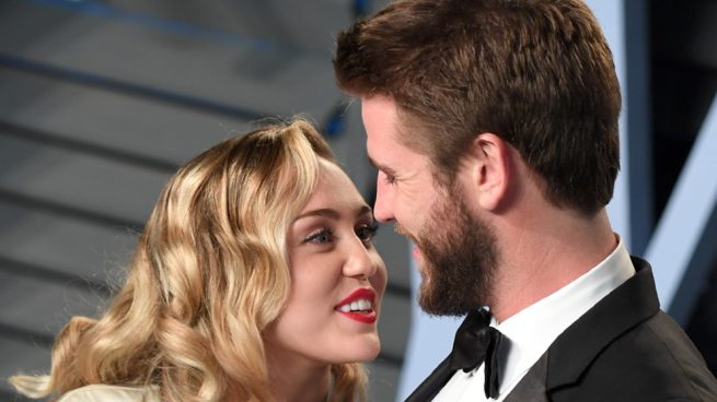 La imagen que confirma la boda secreta de Miley Cyrus y Liam Hemsworth