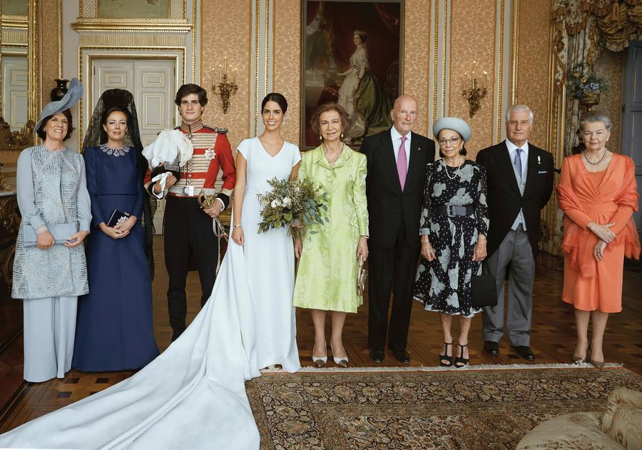 La boda de Fernando Fitz-James Stuart y Sofía Palazuelo
