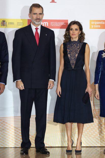 Los looks con los que Letizia nos dejó con la boca abierta en 2018