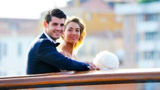 Morata y Alice, el día de su boda / Gtres