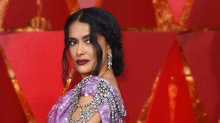 Salma Hayek en los Premios Oscar 2018 / Gtres