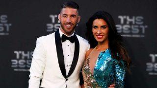 Sergio Ramos y Pilar Rubio, en los premios The Best / Gtres
