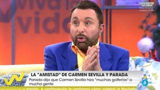 José Manuel Parada, en 'Viva la Vida' / Telecinco.