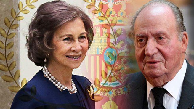 reina Sofía rey Juan Carlos