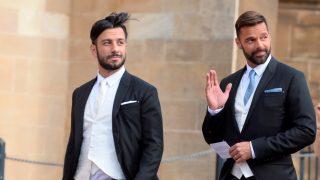 Ricky Martin y Jwan Yosef, en la boda de Eugenia de York / Gtres.