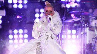 Christina Aguilera, dando la campanada en Año Nuevo / Gtres