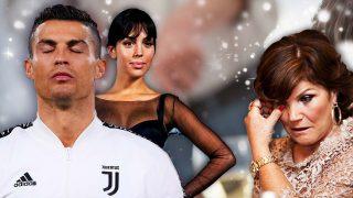 Cristiano Ronaldo planta a su madre en su cumpleaños