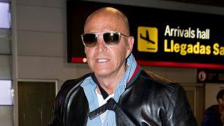 Kiko Matamoros a su llegada a Madrid / Gtres