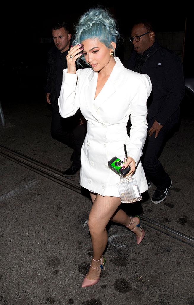 kylie jenner vestido blanco