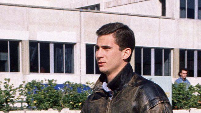 El príncipe de Asturias Felipe