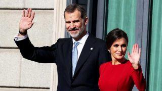 Felipe y Letizia, el pasado 6 de diciembre / Gtres