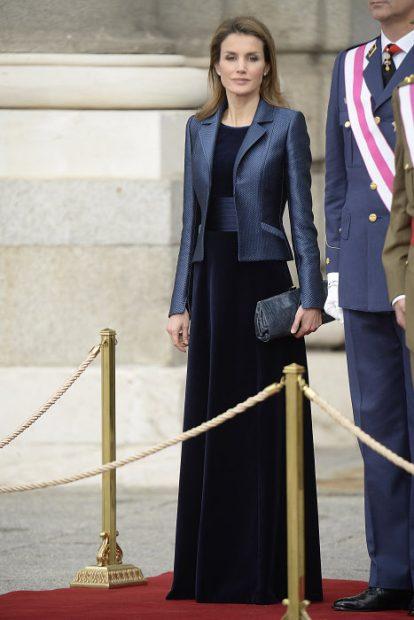 Doña Letizia, fiel a Varela en su debut en 2019