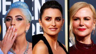 Lady Gaga, Penélope Cruz y Nicole Kidman, en los Globos de Oro 2019 / Gtres