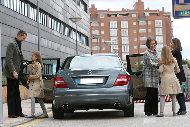 El coche de los Reyes: potencia y elegancia pero respetando el protocolo de contaminación