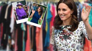 Kate Middleton: más lejos de Meghan Markle, más cerca de la reina Isabel / Fotomontaje LOOK