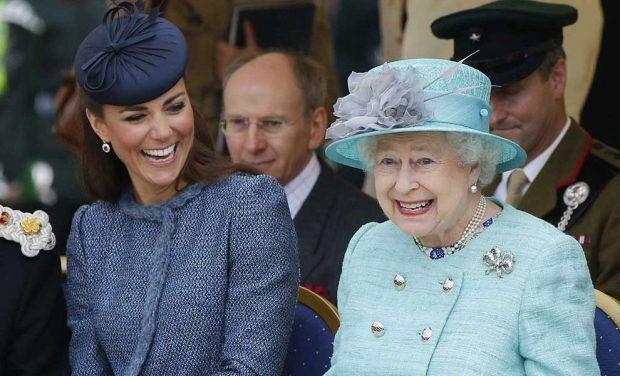 reina Isabel Kate Middleton