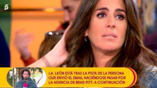 Anabel Pantoja ha roto a llorar / Telecinco