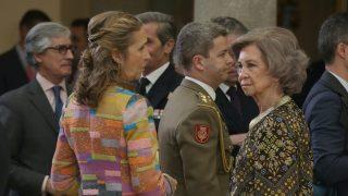 La infanta Elena y la reina doña Sofía / Gtres