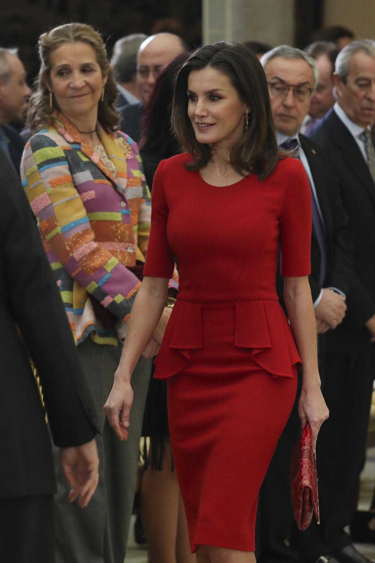 letizia rojo