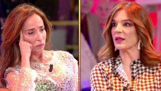 María Patiño y Raquel Bollo en 'Sálvame' / Telecinco.